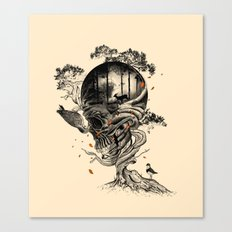 Lost Translation Canvas Print