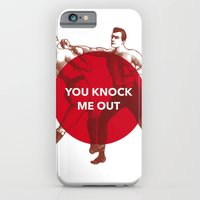 iPhone & iPod Case featuring You Knock Me Out by NeilRobertLeonard
