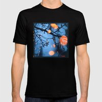 Fireflies Mens Fitted Tee Black SMALL
