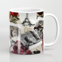 Postcards from Paris Mug