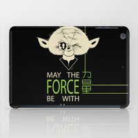 Starwars Yoda - May The … iPad Case