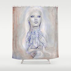 Angel Aura Shower Curtain
