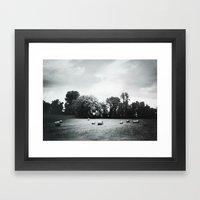 Hay Framed Art Print