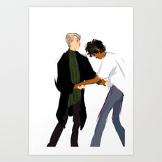Dancing Lessons Art Print
