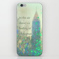 In The Air There's A Feeling iPhone & iPod Skin