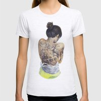 Winds of Chang'e Womens Fitted Tee Ash Grey SMALL