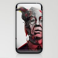 Alfred Hitchcock iPhone & iPod Skin