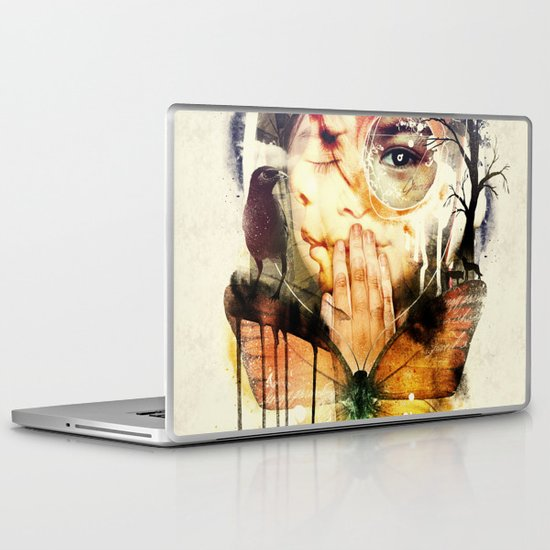 The Silence Laptop & iPad Skin