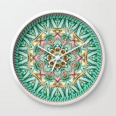 Sea Angel Kaleidoscope Wall Clock