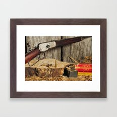 Winchester Model 53 Framed Art Print
