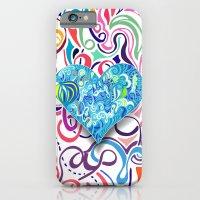 Doodle Heart iPhone 6 Slim Case