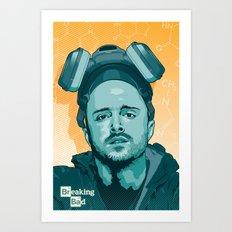 Breaking Bad - Jesse Art Print