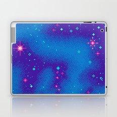 Indigo Nebula (8bit) Laptop & iPad Skin