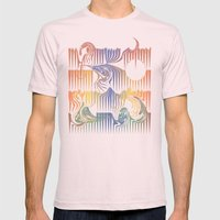 Surf Mens Fitted Tee Light Pink SMALL