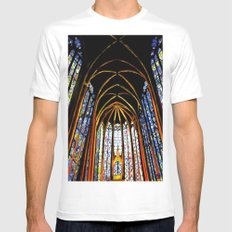 Sainte Chapelle White SMALL Mens Fitted Tee