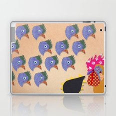 Rooster and hens Laptop & iPad Skin