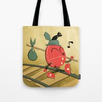 It's A Carefree Hobo Lif… Tote Bag