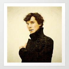 Sherlock Lives Art Print