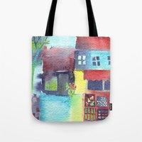 The Fruit and Veg Shop Tote Bag