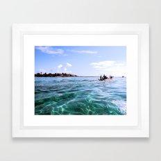 Open Sea Framed Art Print