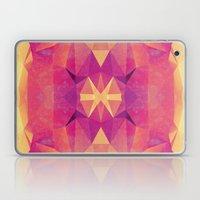 RETRO PINK GEOMETRY Laptop & iPad Skin