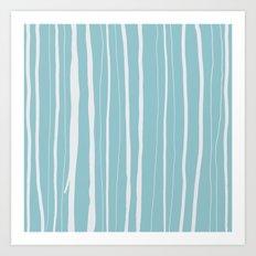 Vertical Living Salt Water Art Print