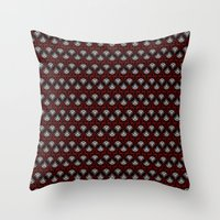 Art Deco pattern Throw Pillow