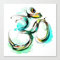 Ohm Canvas Print
