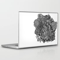 sherlock Laptop & iPad Skins featuring Sherlock  by J. Fuller