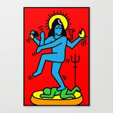 Shiva Keith Haring Tribute Canvas Print