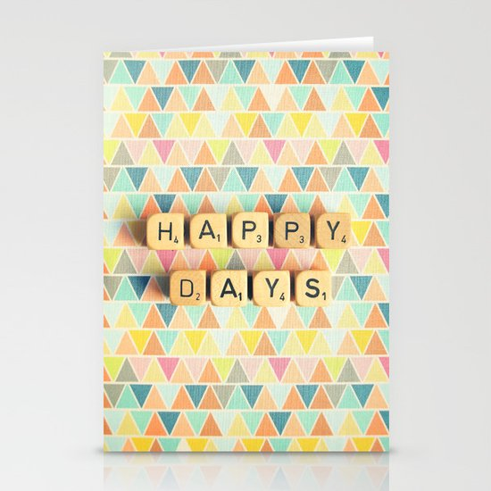Happy Days Stationery Card