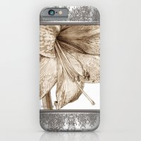 iPhone & iPod Case featuring Amaryllis by JMcCombie