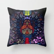 Sage Of Earth Throw Pillow