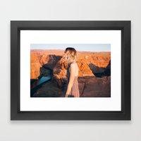 Arizona Portrait Framed Art Print