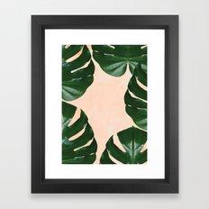 Tropical V4 #society6 #d… Framed Art Print