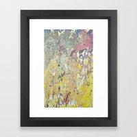 March Rain Framed Art Print