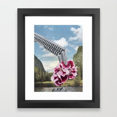 Lake Deposit Framed Art Print