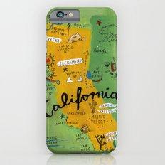 Postcard From California iPhone 6 Slim Case