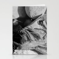 Fish Head Stationery Cards