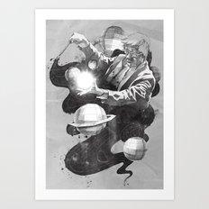 Space Symphony Art Print