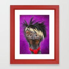 Emu Framed Art Print