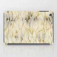Golden Waves iPad Case