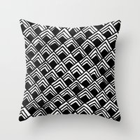 Hand-drawn Pattern Throw Pillow