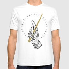 Enchant Mens Fitted Tee White SMALL