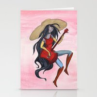 Vampire Queen Stationery Cards