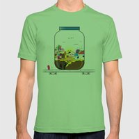 SF Sweet World  Mens Fitted Tee Grass SMALL