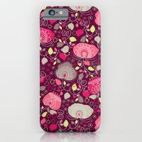 iPhone & iPod Case featuring Fancy Floral by Becca Pike