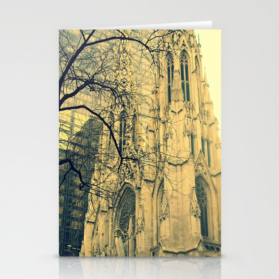 St. Patrick's Cathedral  Stationery Card