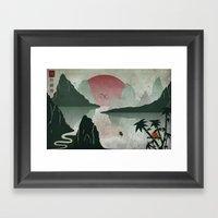 Two Of Seven Framed Art Print