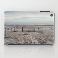 Snowy Gate iPad Case